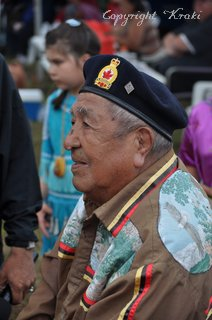 Manitoulin, Wikwemikong, Pow-Wow, veteran II. World War