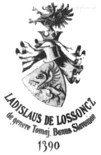 Rodový erb, Ladislav Lossonczy